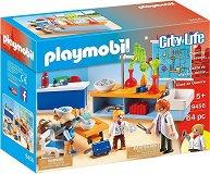 """Химическа класна стая - Детски конструктор от серията """"City Life"""" - играчка"""