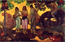 Събиране на плодове - Пол Гоген (Paul Gogen) -