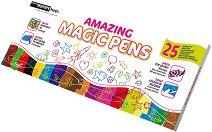 Магически маркери - Комплект от 25 броя