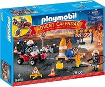 Коледен календар - Пожарна мисия в действие - Детски конструктор за игра -