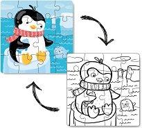 Пингвин - пъзел