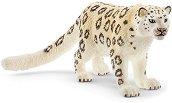 """Снежен леопард - Фигура от серията """"Животни от дивия свят"""" - фигури"""
