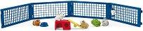 Кошарка със зайчета и морски свинчета - фигура
