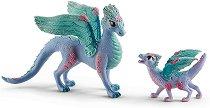 """Дракон и малко драконче - Фигурки от серията """"Илорис"""" - фигура"""