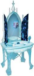 Детска вълшебна тоалетка - Замръзналото кралство - Детски комплект за игра със светлинни и звукови ефекти -