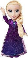 """Музикална кукла - Елза - Играчка със светлинни и звукови ефекти от серията """"Замръзналото кралство"""" -"""
