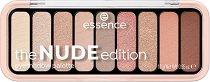 Essence The Nude Edition Eyeshadow Palette - Палитра с 9 цвята сенки за очи - продукт