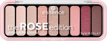 Essence The Rose Edition Eyeshadow Palette - Палитра с 9 цвята сенки за очи -