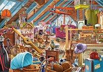 Затрупано таванско помещение - пъзел