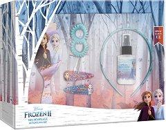 """Детски подаръчен комплект за коса - Disney Frozen 2 - От серията """"Замръзналото кралство"""" - душ гел"""