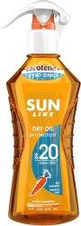 Sun Like Carotene+ Dry Oil Protection - Слънцезащитно сухо олио за тяло с бета-каротин и витамин E - душ гел