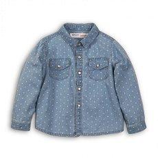 Детска дънкова риза - 100% памук -