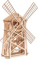 Мелница - Механичен 3D пъзел -
