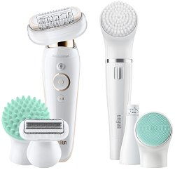 Braun Silk-epil 9 Flex 9300 Beauty Set Wet & Dry - Система за грижа и епилиране за лице и тяло -