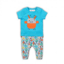 Бебешки комплект - Тениска и панталон -