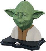 """Скулптура на Йода - 3D пъзел от серията """"Star Wars"""" - макет"""