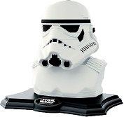 """Скулптура на Стормтрупър - 3D пъзел от серията """"Star Wars"""" - макет"""