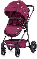 Комбинирана бебешка количка - Noah - С 4 колела -