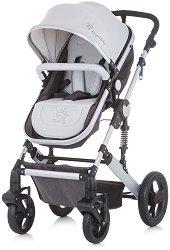 Комбинирана бебешка количка - Terra 2020 - С 4 колела -