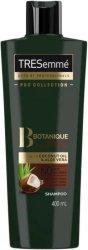 "Tresemme Botanique Nourish & Replenish Shampoo - Подхранващ шампоан с кокосово масло и алое вера от серията ""Botanique"" - шампоан"