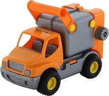 Боклукчийски камион - ConsTruck - образователен комплект