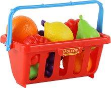 Кошница с плодове - играчка