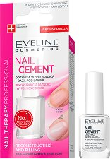 Eveline Nail Cament Reconstructing and Filling Nail Conditioner & Base Coat -