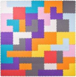 Тетрис - Детски пъзел-килим с меки елементи -