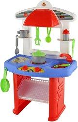 Детска кухня - Яна - Детски комплект за игра с аксесоари -