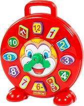 Сортер - Часовник с клоун - играчка
