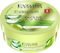 Eveline Extra Soft bio Olive & Aloe Face and Body Cream - гел