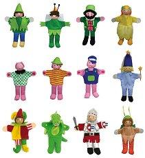 Кукли за пръсти за куклен театър -