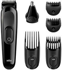 Braun Multi Grooming Kit MGK3220 6 In 1 - Тример за лице и коса -