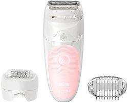 Braun Silk-epil 5 SensoSmart 5-620 Wet & Dry - Епилатор за тяло за суха и мокра епилация -