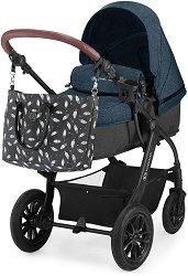 Бебешка количка 2 в 1 - Xmoov - С 4 колела -