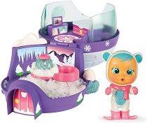 Cry Babies: Magic Tears - Иглуто на Кристал - Плачеща мини кукла бебе с аксесоари - кукла