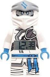 """Детски будилник - LEGO Ninjago Zane - Детски аксесоар от серията """"LEGO: Ninjago"""""""