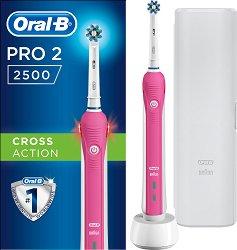 Oral-B Braun Pro 2 2500 Cross Action - Pink -