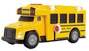 Училищен автобус - Детска играчка със светлинни и звукови ефекти -