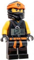 """Детски будилник - LEGO Ninjago Cole - Детски аксесоар от серията """"LEGO: Ninjago"""""""