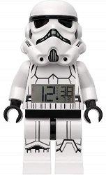 """Детски будилник - LEGO Stormtrooper - Детски аксесоар от серията """"Star Wars"""""""
