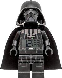 """Детски будилник - LEGO Darth Vader - Детски аксесоар от серията """"Star Wars"""""""