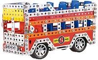 Двуетажен автобус - Метален конструктор -