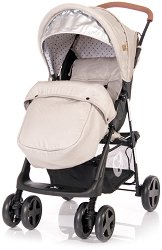 Лятна бебешка количка - Terra 2020 - С 4 колела и покривало за крачета -