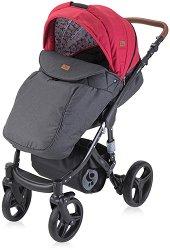 Бебешка количка 2 в 1 - Rimini 2020 - С 4 колела -
