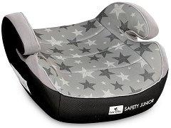 """Детско столче за кола - Safety Junior: Grey Star - За """"Isofix"""" система и деца от 15 до 36 kg -"""