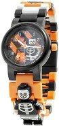 "Детски ръчен часовник - LEGO Ninjago: Skeleton Guy - Комплект с фигурка от серията ""LEGO: Ninjago"
