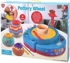 Грънчарско колело - Творчески комплект - играчка