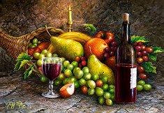 Плодове и вино -