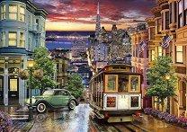 Трамвай във Сан Франциско - пъзел